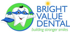 Bright Value Dental Logo